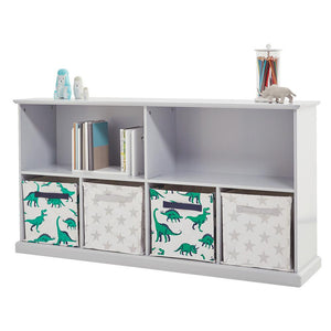 Abbeville Long Shelf Unit, Cloud Grey
