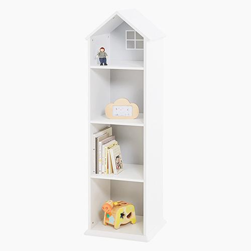 Townhouse Bookcase, Cloud Grey