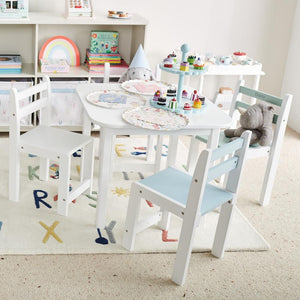 Little Bo Peep White Toddler Table