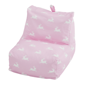 Washable Bean Bag Chair, Bunny Hop