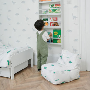 kids' dinosaur bean bag