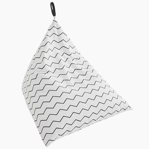 Washable Bean Bag, Zigzag.