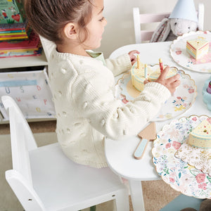 Pied Piper Toddler Chair, White