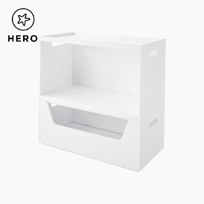Rackham Storage Set 4 (Book Shelf & Toy Box) Home > Storage > Stacking Storage GLTC