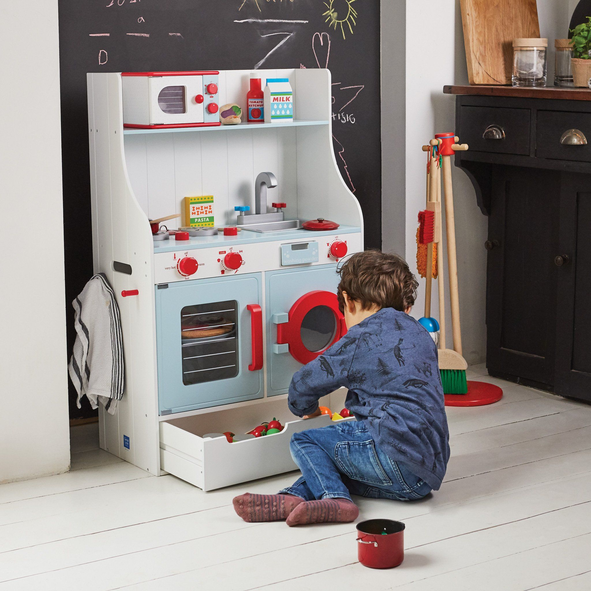 St Ives Play Kitchen Wooden Toy Kitchen Great Little