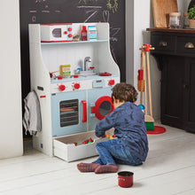 wooden toy kitchen for kids