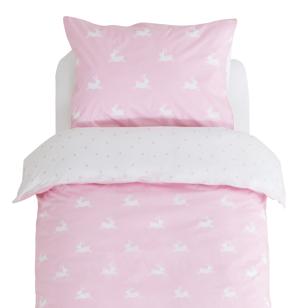 Bunny Hop Duvet Cover Set - Toddler Home > Accessories > Childrens Bedding G.L.T.C Limited