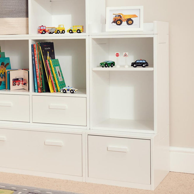 Alba Playroom Storage, Narrow Shelf