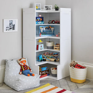 Alba Playroom Storage, Corner Shelf