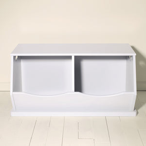 double stacking storage trunk, cloud grey