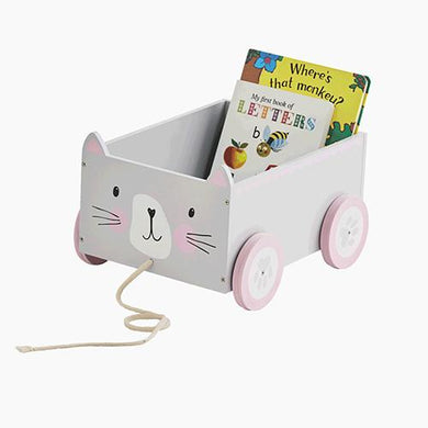 Book Cart, Cat
