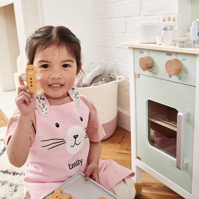 Personalised Child's Apron, Miss Bunny