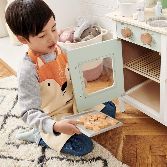 Personalised Child's Apron, Mr Fox.