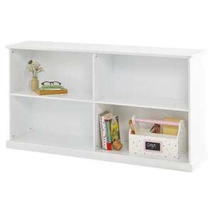 Abbeville Long Open Shelving Unit, White