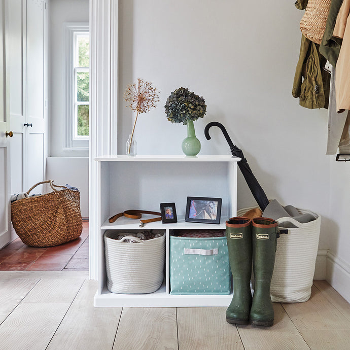 Abbeville Small Shelf, White