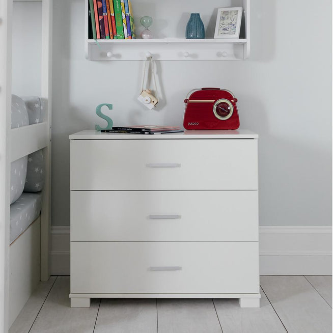 Tate ivory chest of drawers