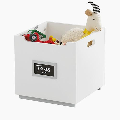 Barbican Toy Storage Box, White