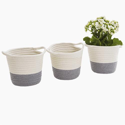 Mini Rope Storage Baskets (Set of 3)