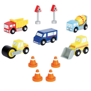 Construction Vehicles Set
