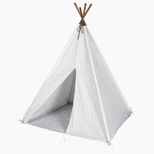 Play Teepee, Grey Stardust