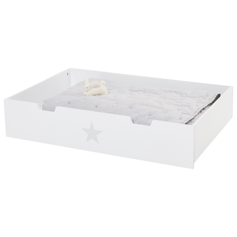 Large Underbed Drawer, Grey Star