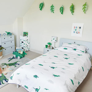 Star Bright Single Bed, Cloud Grey