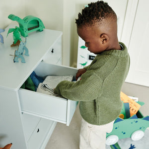 Star Bright Chest of Drawers, Cloud Grey
