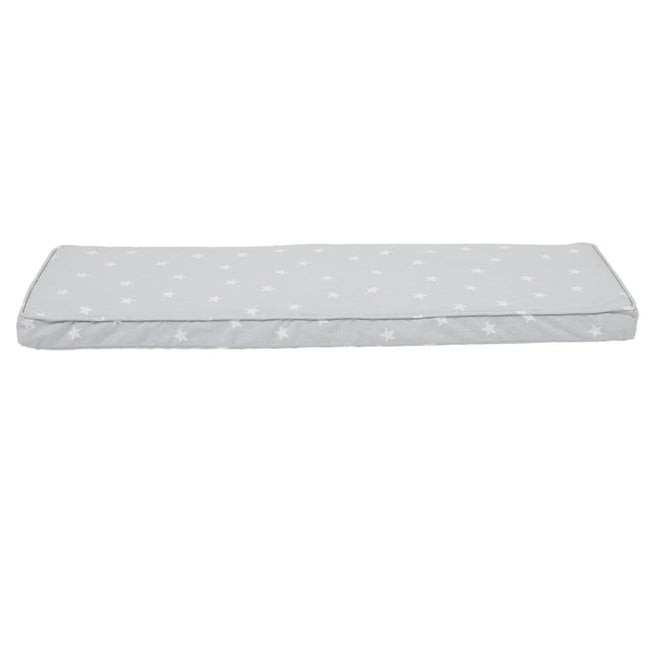 Abbeville Bench Cushion, Grey Stardust