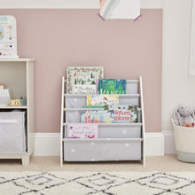 Sling Bookcase, Grey Stardust