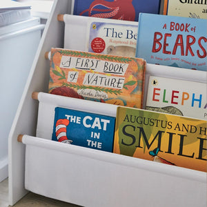 Sling Bookcase, White