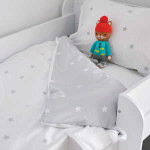 Grey Stardust Bedding Set - Toddler