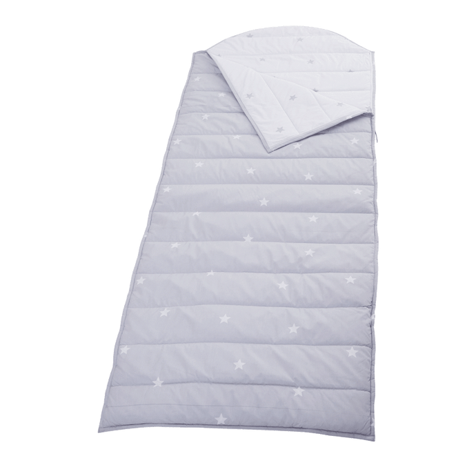 Children's Sleeping Bag, Grey Stardust