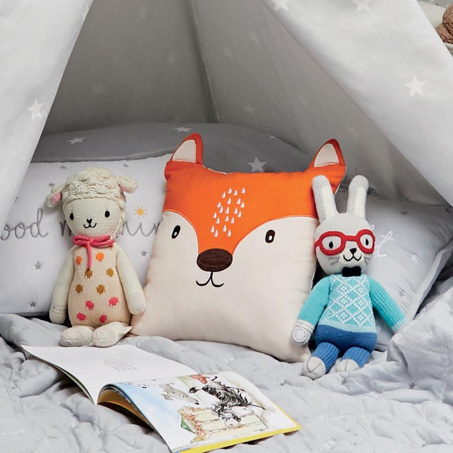 Children's Animal Cushion, Mr Fox