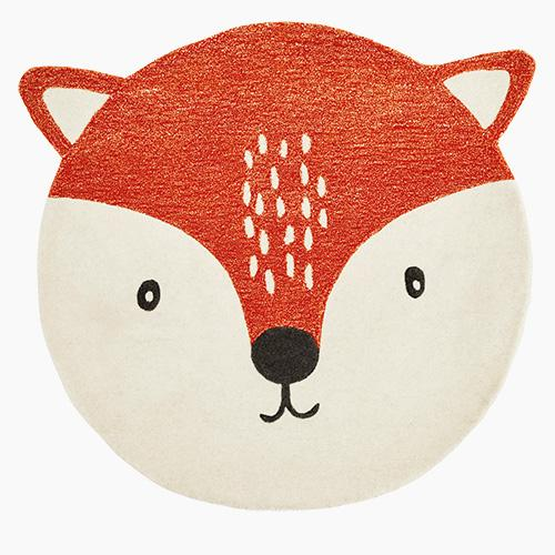 Children's Animal Rug,    Fox
