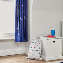 Children's Blackout Curtains - Navy Stardust, W165 x L137 cm