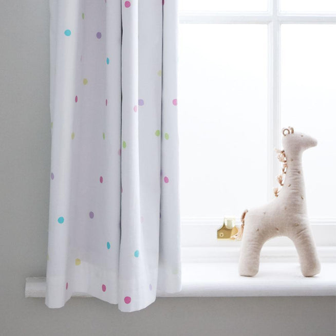 Children's Blackout Curtains - Confetti Spot - W165 x L183 (cm)