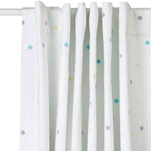 Children's Blackout Curtains - Confetti Spot, W165 x L137 cm
