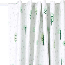 Children's Blackout Curtains - Woodland, W135 x L137 cm