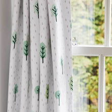 Children's Blackout Curtains - Woodland - W165 x L137 (cm)