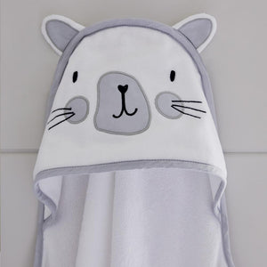Hooded Towel, Miss  Cat