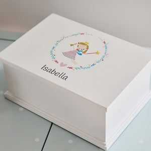 Personalised Jewellery Box, Daisy Fairy