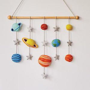 Felt Wall Hanging, Space