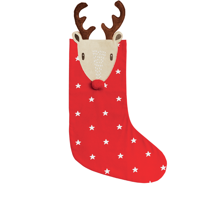 Christmas Stocking, Reindeer