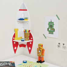 Rocket Corner Shelf