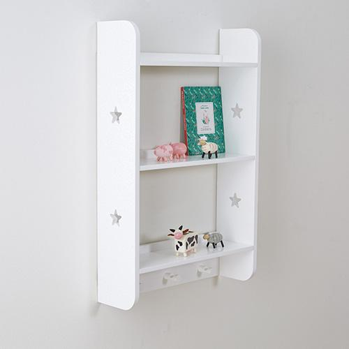 Star Bright Shelves with Hooks - Portrait