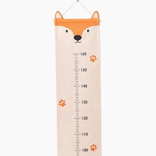 Fabric Height Chart, Fox