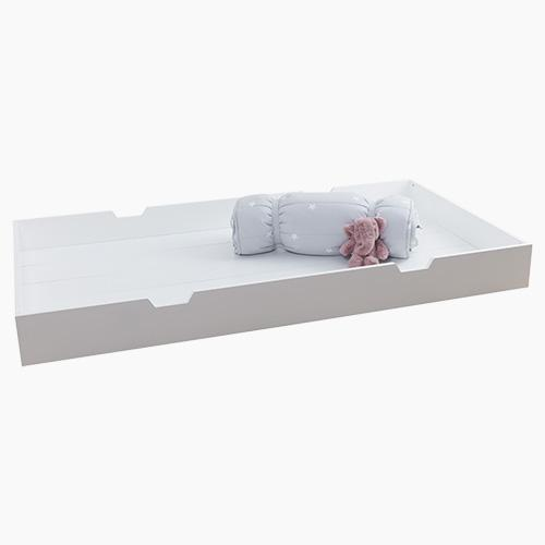 Underbed Truckle, White
