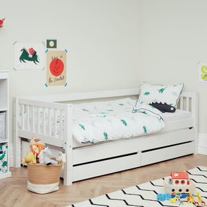 Griffin Day Bed with Truckle & Storage Drawers