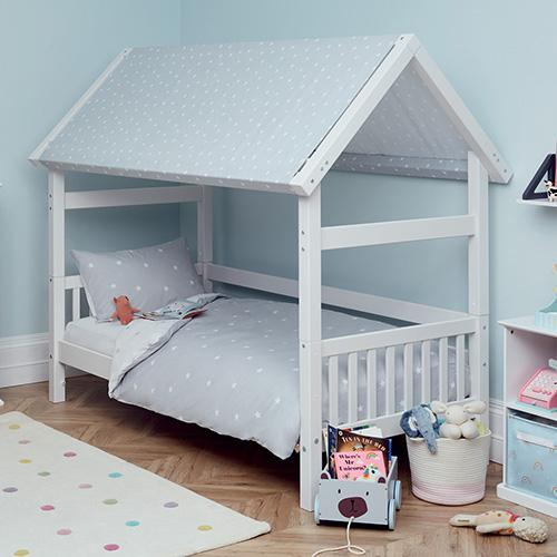 Griffin Single House Bed with Stardust Roof