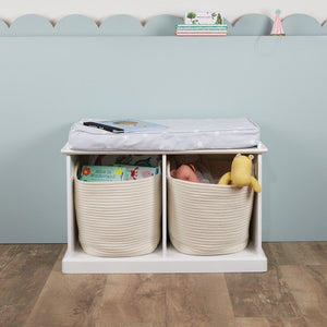 Abbeville Small Storage Bench with Cushion
